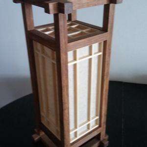 Bambusz asztali japán Shoji lámpa (Larry35) - Meska.hu