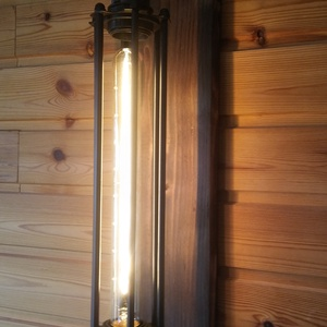Ipari retró lámpa 40w-os Edison Izzóval (Larry35) - Meska.hu