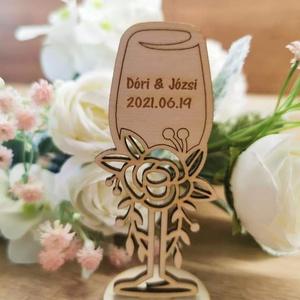 Köszönö ajándék , Esküvő, Emlék & Ajándék, Köszönőajándék, Famegmunkálás, Meska
