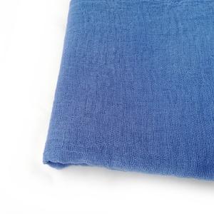 """""""kékség""""  nagy géz-sál, Ruha & Divat, Sál, Sapka, Kendő, Sál, Kék - ezúttal középkék; üde, hűvös szín.. Mérete: kb. 90x170cm(be van szegve)  Pihe-puha gézkendő, n..., Meska"""