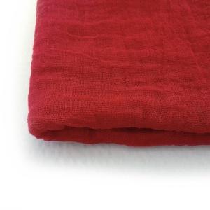 piros  nagy géz-sál , Sál, Sál, Sapka, Kendő, Ruha & Divat, Festett tárgyak, Telített, klsszikus piros; színét többszöri festésnek köszönheti..\nMérete:: kb90x170cm ( természetes..., Meska