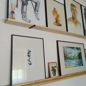 Eukaliptusz print, Otthon & lakás, Képzőművészet, Festmény, Akvarell, Festmény vegyes technika, Illusztráció, Festészet, Fotó, grafika, rajz, illusztráció, EUKALIPTUSZ PRINT\n\nKézzel festve akvarellel, digitális nyomtatva. A print ára nem tartalmazza a kere..., Meska
