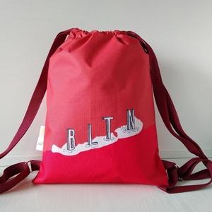 BLTN Tornazsák/ Naplemente, Táska & Tok, Hátizsák, Gymbag, Festészet, Varrás, Az ötletekért Dávid (BLTN-Shop) felel, a mintákat részben én (Laud) tervezem, a táskákat pedig varro..., Meska