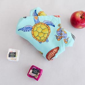Szendvics csomagoló szalvéta: tartós, vízhatlan, nowaste, óceán mintás (Lavenderhome) - Meska.hu