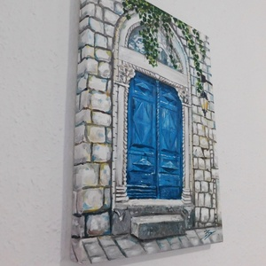 A múltnak kapuja - akril festmény (LaVoi) - Meska.hu