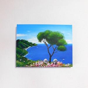 Capri - akril festmény (LaVoi) - Meska.hu