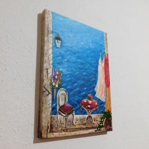 Rovinj - akril festmény (LaVoi) - Meska.hu