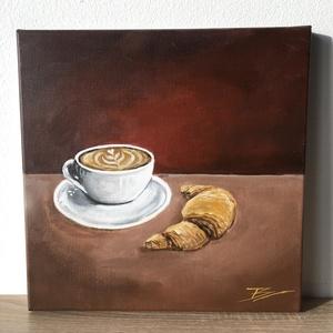 Coffee time - akril festmény - Meska.hu