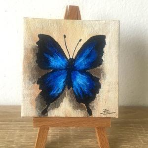 Pillangó - miniatúra állvánnyal - Meska.hu