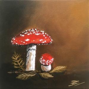 Őszi hangulat - akril festmény, Művészet, Festmény, Akril, Festészet, Meska