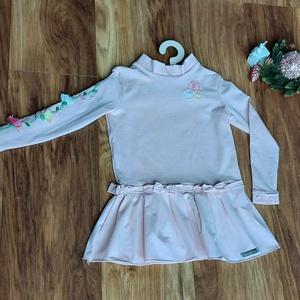 Rózsaszín kislány ruha , Ruha & Divat, Babaruha & Gyerekruha, Ruha, Hímzés, Varrás, Ez a különleges kislány ruha bármely hétköznapi, de ünnepi alkalommal megállja a helyét. \nKülönösen ..., Meska