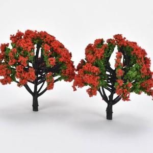 Manó - Tündér modell növény, piros virágos fa 8cm 2db/cs. - SOK FAJTA MANÓ TERMÉKEM VAN !!!!!., Dekorációs kellékek, Figurák, Famegmunkálás, Manó - tündér  modell növény, piros virágos fa 8cm 2db/csomag  Személyes átvételre a 6.ker.Oktogon ..., Alkotók boltja