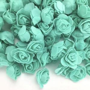 Habrózsa,150db/cs. 3 cm - több szín, Dekorációs kellékek, Egyéb kellékek, Virágkötészet, Mindenmás, Decoupage, szalvétatechnika, Habrózsa,3 cm - sok színben - almazöld, menta, világos zöld   150db/csomag\n\nTermékeim közt találsz n..., Meska