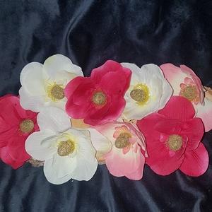 Magnólia fejvirág 9cm 10db/cs. - rengeteg fajta fej és csokros virág, Dekorációs kellékek, Egyéb kellékek, Virágkötészet, Mindenmás, Decoupage, szalvétatechnika, Magnólia fejvirág 9cm - rengeteg fajta fej és csokros virágot találsz termékeim közt\n\nSzemélyes átvé..., Meska