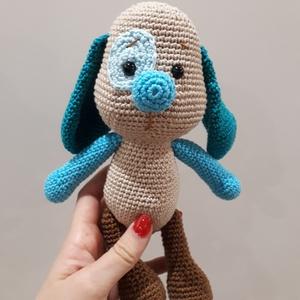 Herold kutya, Gyerek & játék, Gyerekszoba, Játék, Horgolás, 100% pamutfonalból készült biztonsági szemekkel ellátott, szilikongolyóval töltött kutya. A színek i..., Meska