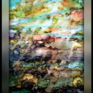 Reggel..., Otthon & lakás, Képzőművészet, Festmény, Festészet, A/4-es méretű, keret nélküli, speciális kétrétegű akvarell., Meska