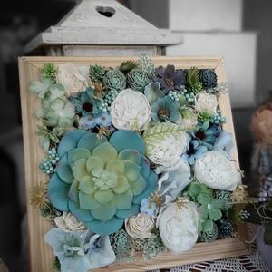 3d falikèp, Otthon & lakás, Dekoráció, Dísz, Kép, Lakberendezés, Virágkötés, A képen látható faliképek mérete 25 x 25 cm, de bármilyen méretben ès színben elkèszítem.Ez csak a t..., Meska