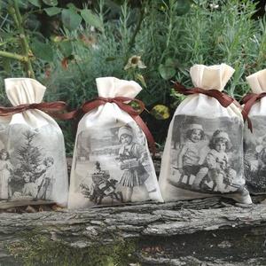 levendula zsák illatos nosztalgia csomag - otthon & lakás - dekoráció - illatzsák - Meska.hu