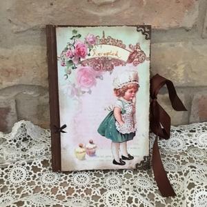 Vintage receptfüzet/napló (Levike) - Meska.hu