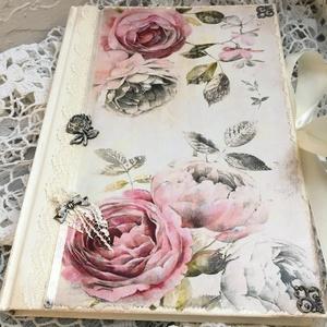 Rózsás napló a legféltettebb titkaidnak (Levike) - Meska.hu