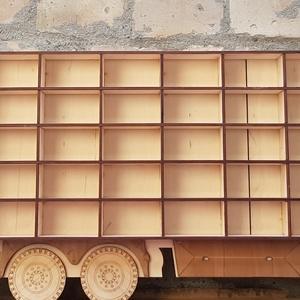 Matchbox tároló polc, Kamion formájú polc, Játék tartó, Gyerekszoba dekoráció - Meska.hu
