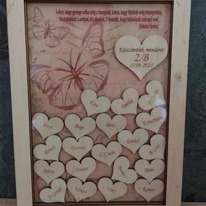 Különleges Vintage stílusú Emlékkönyv, Vendégkönyv fából, Nászajándék, Ballagási ajándék, Esküvő, Emlék & Ajándék, Vendégkönyv, Gravírozás, pirográfia, Famegmunkálás, A képen látható exkluzív fa emlékkönyvünk kitűnő választás pl. búcsúajándékként a tanító néniknek, ó..., Meska