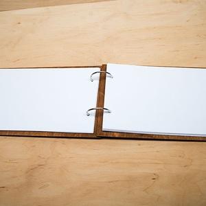 Alternatív vendégkönyv, fotóalbum, névre szóló album, esküvői fotóalbum, esküvői vendégkönyv A5 méretben (lfekete) - Meska.hu
