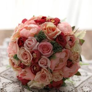 Menyasszonyi csokor, örökcsokor, örök csokor, Esküvő, Menyasszonyi- és dobócsokor, Menyasszonyi- és dobócsokor, Mindenmás, Virágkötés, Minőségi selyem virágokból készült menyasszonyi csokor , örök csokor . Kreatív fotózásra, dobócsokor..., Meska