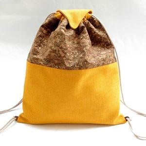 Lidasoul parafa hátizsák / Amber Gold (lidasoul) - Meska.hu