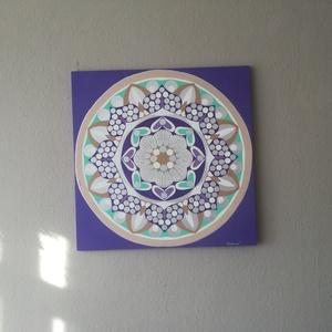 Ezüst Bőség Mandala (LiebeMandala) - Meska.hu
