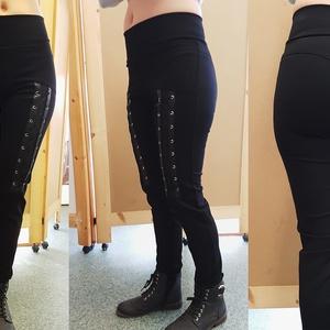 Fűzős legging, 36- os (Limera) - Meska.hu
