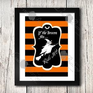 Halloween Kép, Halloween party, Halloween Dekoráció, Őszi narancssárga Dekor, Otthon & Lakás, Kép & Falikép, Dekoráció, A/4-es méretű Halloween-es nyomtatott kép, Print lap.  Tökéletes Halloween-i dekoráció vagy ajándék ..., Meska