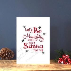 Karácsonyi Képeslap, Adventi Képeslap, Karácsonyi Dekoráció, Karácsonyi Szerelmes üdvözlőlap  - karácsony - karácsonyi ajándékozás - karácsonyi képeslap, üdvözlőlap, ajándékkísérő - Meska.hu
