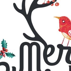 Karácsonyi Képeslap, Adventi Képeslap, Karácsonyi Dekoráció, Karácsonyi üdvözlőlap, Ünnepi képeslap  (LindaButtercup) - Meska.hu