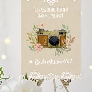 Vintage Esküvői Felirat A3, Esküvői poszter, Esküvő Dekor, Esküvői felirat, Vintage, Csipke,Zsákvászon, fotó, fénykép, (LindaButtercup) - Meska.hu
