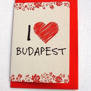 Budapesti Képeslap, Hungaricum Képeslap, Hungary, üdvözlőlap, lap, kártya, Budapest, I love Budapest, BP, turista (LindaButtercup) - Meska.hu