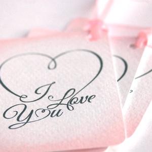 Valentin napi Ajándékkísérő, valentin nap, ajándék, kísérőkártya, szülinap, szív, barack, szeretlek, tavaszi, love you,, Otthon & Lakás, Papír írószer, Ajándékkísérő, Fotó, grafika, rajz, illusztráció, Mindenmás, Meska