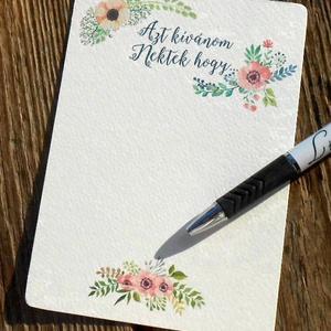 Rusztikus Esküvői lap, kártya, vintage esküvő, party kártya, azt kívánjuk nektek hogy (LindaButtercup) - Meska.hu