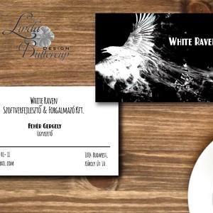 Névjegykártya, Egyedi Tervezés, Ntermék címke, Névjegy, design, szerkesztés, cég, logo, logó, vállalkozás, ajándékkísérő, Naptár & Tervező, Papír írószer, Otthon & Lakás, Fotó, grafika, rajz, illusztráció, Papírművészet, Névjegykártya pasiknak!\n\nEgyedi tervezésű névjegykártya\n\n* Nyomtatás: Dupla oldalas\n* Kivitelezés: K..., Meska