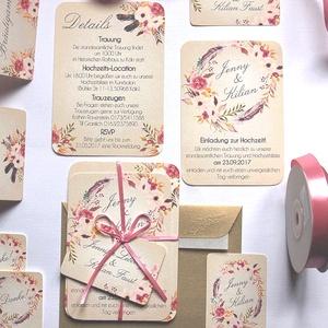 Vintage Esküvői meghívó, Romantikus, elegáns meghívó, marsala, Barack virág, virágos meghívó, Modern, mezei, rétivirág, , Esküvő, Meghívó, ültetőkártya, köszönőajándék, Naptár, képeslap, album, Otthon & lakás, Képeslap, levélpapír, Fotó, grafika, rajz, illusztráció, Papírművészet, Minőségi Virágos Esküvői  Meghívó\n\n* MEGHÍVÓ CSOMAG BORÍTÉKKAL:\n- 1.  -Meghívó lap, egy oldalas: kb...., Meska
