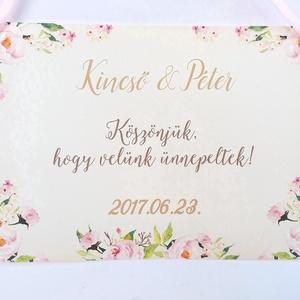 Esküvői Dekoráció, Esküvői felirat A4, dekor, Felirat, Poszter, romantikus, Esküvő, Vintage, Rusztikus, tábla (LindaButtercup) - Meska.hu