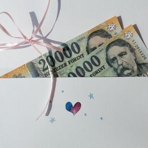 Pénzátadó boríték, Hála pénz, Doktor, Szülész, Doktornak, Pénz lap, Ajándék, pénz átadó lap, hálapénz, kisfiú, kislány (LindaButtercup) - Meska.hu