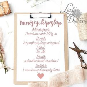 Tanú felkérő lap, Koszorúslány felkérő lap, Örömanya, Örömapa, köszönet, Esküvői Képeslap, sötétkék, design (LindaButtercup) - Meska.hu