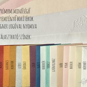 Esküvői meghívó Kék Hortenzia Virágos, Nyári Virágos Esküvői lap, Hortenzia, virágos meghívó, Kék Esküvő (LindaButtercup) - Meska.hu