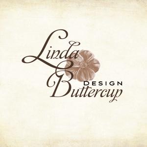 Névjegykártya, Egyedi Tervezés, sminkes, Névjegy, design, szerkesztés, virágos, logo, arany, kozmetikus, fodrász (LindaButtercup) - Meska.hu