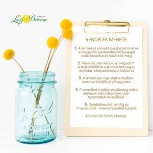 Ültetőkártya, ültető, névkártya, rózsaszín Esküvői ültető, virágos, pink, tavaszi esküvő, nyári, romantikus (LindaButtercup) - Meska.hu