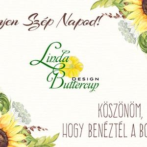 Köszönet kártya, ajándékkísérő,köszönet ajándék, esküvői kísérőkártya, köszönjük, romantikus, arany, virágos, rózsa (LindaButtercup) - Meska.hu