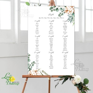 Bohó Ültetési rend, Natúr, természetközeli, seat chart, seating plan, Esküvői ültetésirend, Ültetők, Ültetésrend,, Esküvő, Ültetési rend, Meghívó & Kártya, A2 Ültetési rend - PAPÍR POSZTER  MÉRET: A2: (42x59.4cm) Ez a maximum méret amit el tudunk készíteni..., Meska