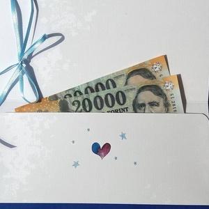 Rókás, Pénzátadó boríték, Ajándék, pénz átadó lap, kisfiú, szülinapi ajándék, pénz, hálapénz, szülésznő, doktor (LindaButtercup) - Meska.hu