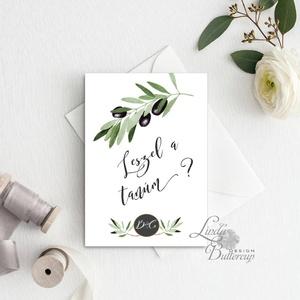 Tanú felkérő lap, Koszorúslány felkérő lap, Esküvői Képeslap, virágos, natúr, esküvői meghívó, tanú, greenery, natúr, Esküvő, Meghívó, Meghívó & Kártya, Tanú felkérő lap A/6, borítékkal.  NÉVRE SZÓLÓ LAP: ** SZÖVEG VÁLTOZTATHATÓ**  * KIVITELEZÉS: - 1old..., Meska